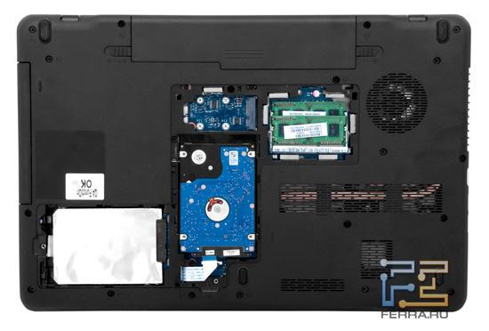 Возможности обновления Toshiba Satellite P775 3D