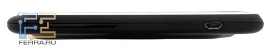 Правая боковина корпуса HTC Incredible S
