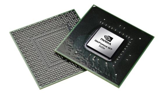 Чип NVIDIA GT540M