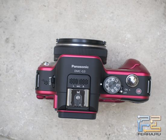 Верхняя часть корпуса Panasonic Lumix G3