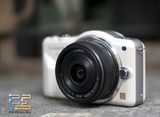 Panasonic Lumix GF3 очень фотогеничен