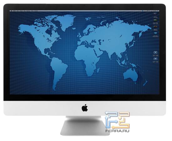 Apple iMac 27 — вид спереди