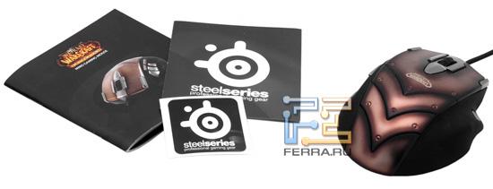 Комплект поставки мыши SteelSeries Cataclysm