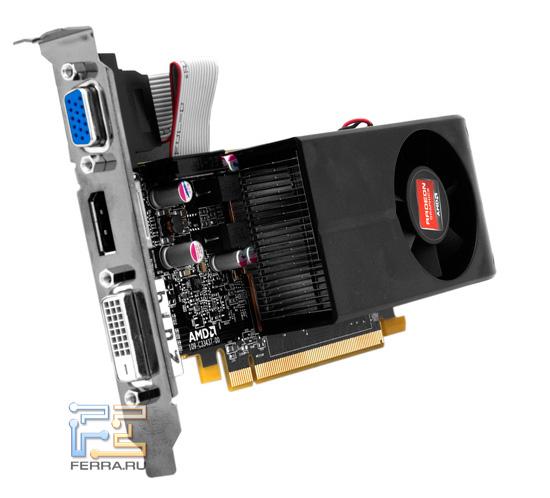 Общий вид видеокарты Radeon HD 6670