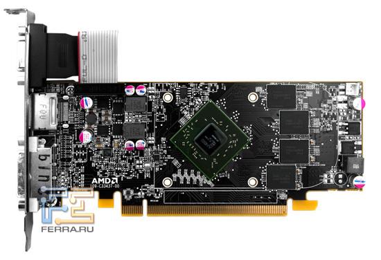 Печатная плата Radeon HD 6670