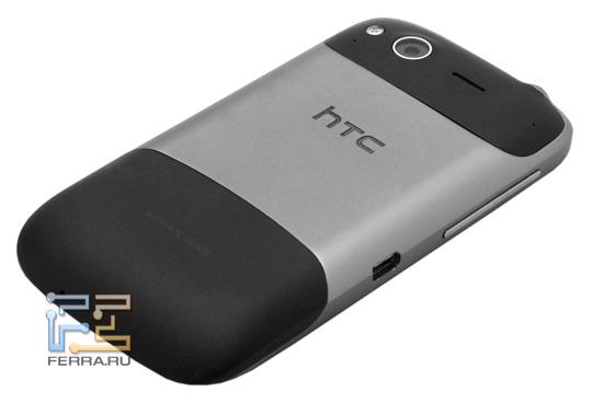 Задняя сторона корпуса HTC Desire S