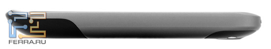 Правая боковая грань HTC Desire S