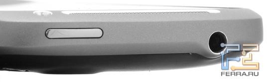 Верхний торец корпуса HTC Desire S