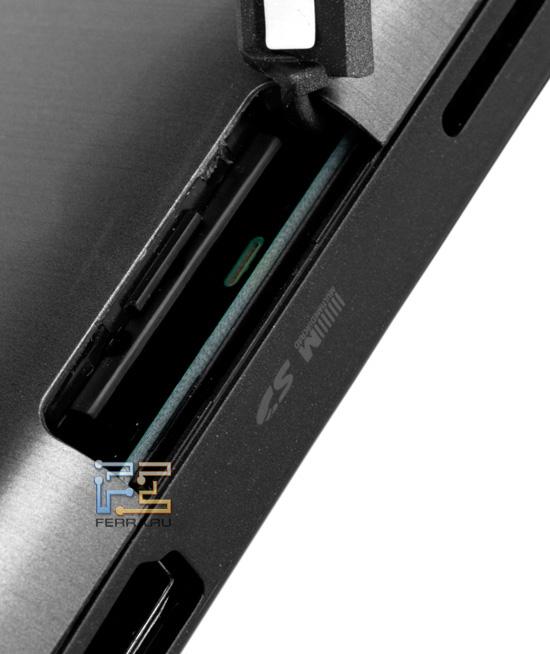 Слот для карт памяти SD/MMC