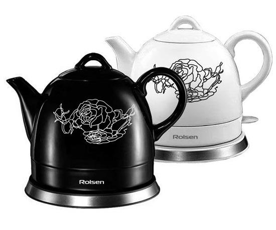 Керамический чайник Rolsen RK-1008 C