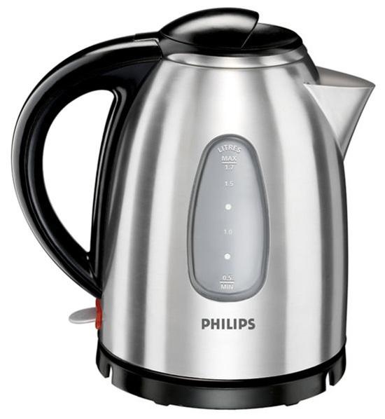 Чайник Philips HD4665 находится на беспроводной подставке