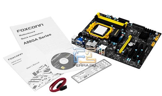 Комплект поставки системной платы Foxconn A88GA-S