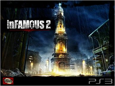 Залезть на эту башню для героя InFamous 2 - пара пустяков