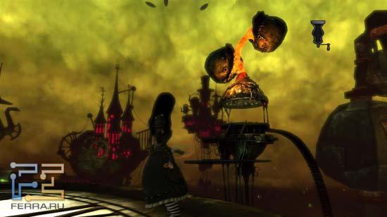 Локации Alice: Madness Returns бросают вызов всем остальным играм - такого количества интересных идей вы вряд ли где-нибудь еще встретите