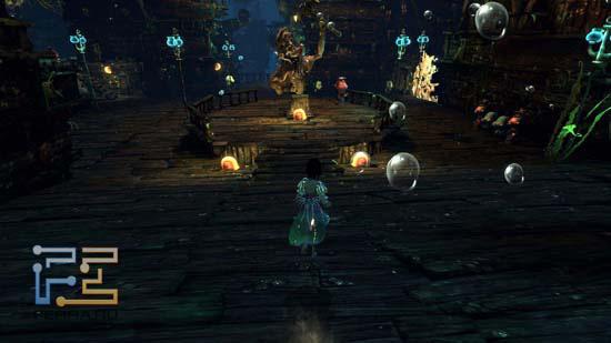Под водой в Alice: Madness Returns нам предстоит пробыть достаточно долго