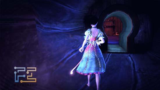 По мановению волшебной кнопочки героиня Alice: Madness Returns размером становится со спичечный коробок