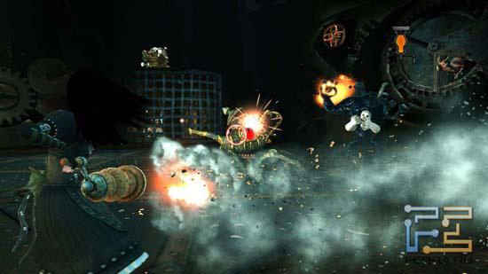 Иногда Alice: Madness Returns заставляет как следует попотеть - мини-боссы появляются в окружении врагов помельче