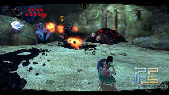 Хорошая реакция в Alice: Madness Returns приветствуется - она пригодится хотя бы для того, чтобы вовремя отбить снаряды, выпускаемые противниками в сторону Алисы
