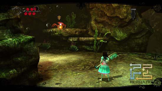 Для удобства игроков в Alice: Madness Returns есть система автоприцеливания, помогающая быстро среагировать на врагов