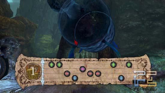 В отличие от Guitar Hero, в музыкальных мини-играх Alice: Madness Returns музыкальный слух особо не нужен, главное - умение быстро нажимать на нужные клавиши