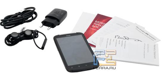Комплект поставки HTC Sensation