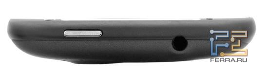 Верхняя грань HTC Sensation