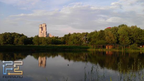 В Серебряном бору в Москве открыли дивную экологическую тропу - HTC Sensation