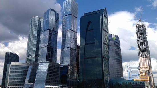 Москва-Сити растёт ввысь и вширь - HTC Sensation