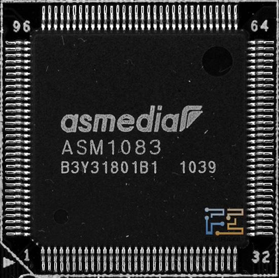 ASMedia ASM1083 - популярный чип на платах Intel 6-series