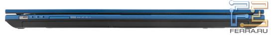 Передний торец Acer Aspire 4830TG: карт-ридер