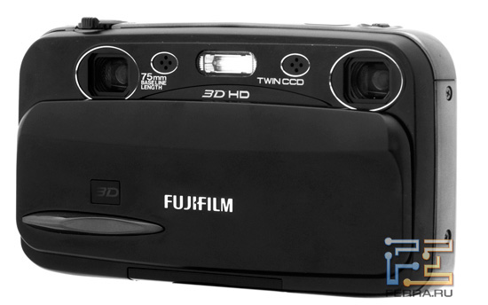 Два объектива, два микрофона и одна вспышка - Fujifilm FinePix Real 3D W3
