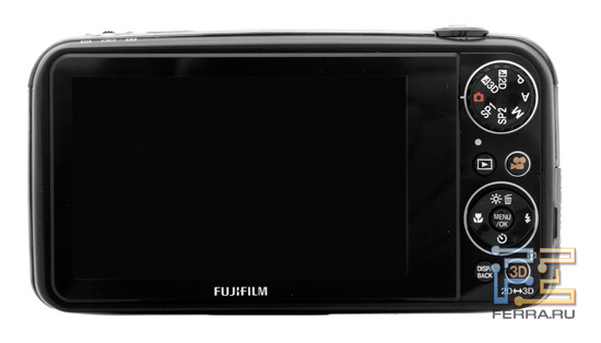 Задняя панель корпуса Fujifilm FinePix Real 3D W3