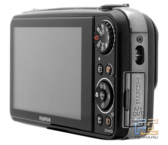Fujifilm FinePix Real 3D W3 � �������� ������ ���������� � �������