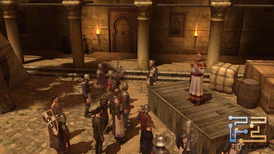 Церкви в The First Templar отведена немалая роль