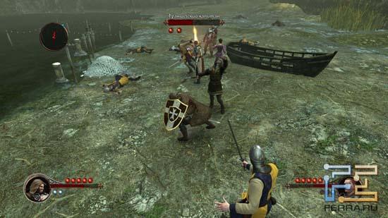 Редкий для The First Templar случай, когда в бою принимают участие сразу три героя
