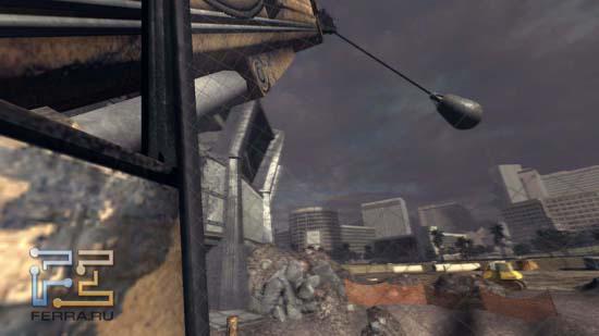 И кто сказал, что в Duke Nukem Forever не интерактивное окружение? Вот, пожалуйста - стена к вашим услугам