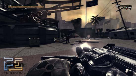 Порой авторы Duke Nukem Forever дают нам возможность пострелять из стационарного оружия