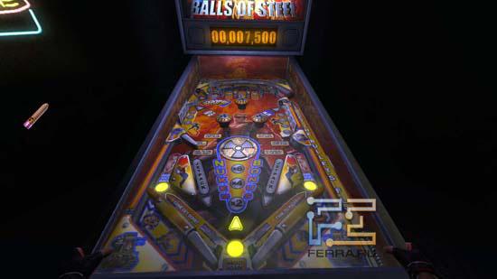 В Duke Nukem Forever хватает различных мини-игр - вот, например, можно сыграть партию в пинбол