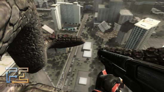 Порой Duke Nukem Forever позволяет взглянуть на Лас-Вегас с высоты причьего полета