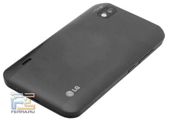 Задняя панель LG Optimus Blac