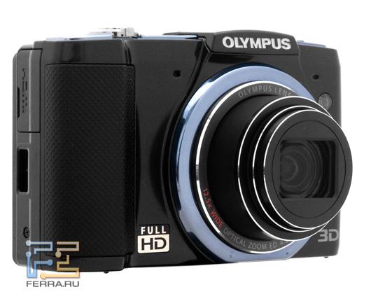 Olympus SZ-20: вид спереди
