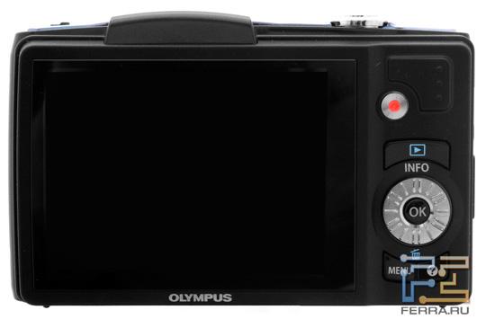 Olympus SZ-20: вид сзади