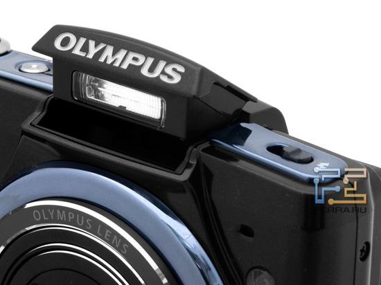Возведенная вспышка Olympus SZ-20