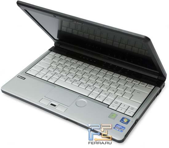 Открытый Fujitsu LIFEBOOK S761
