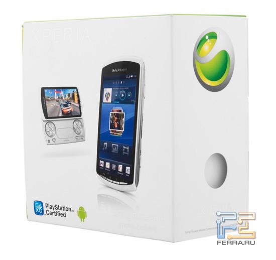 Упаковка Sony Ericsson Xperia Play