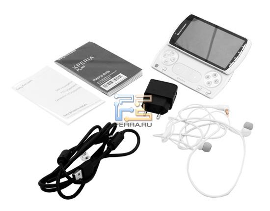 Комплект поставки Sony Ericsson Xperia Play