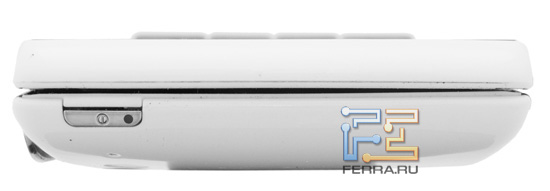 Верхний торец корпуса Sony Ericsson Xperia Play