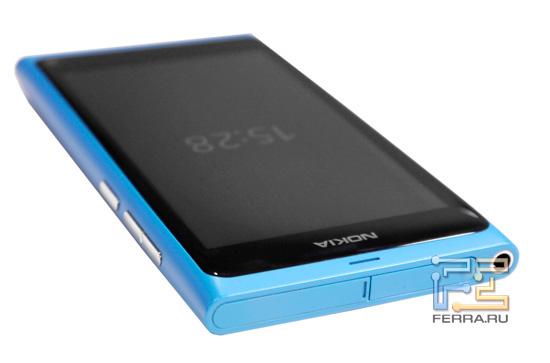 Верхний торец корпуса Nokia N9