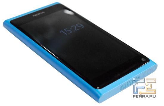 Левая боковина корпуса Nokia N9