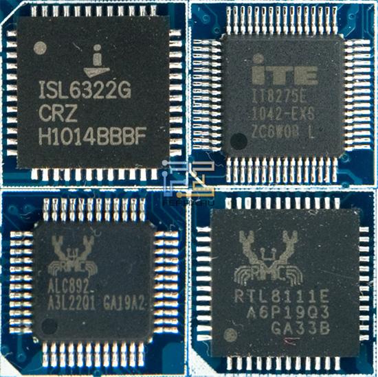 Сеть и звук обеспечиваются качественными и проверенными решениями от Realtek Semiconductor